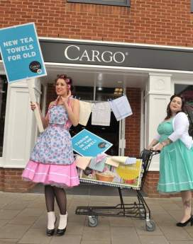 Cargo - 'Tea Towel Amnesty' and 'Christmas Fairies'