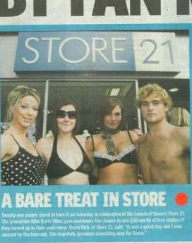 Store Twenty One - 'Dare to Bare'